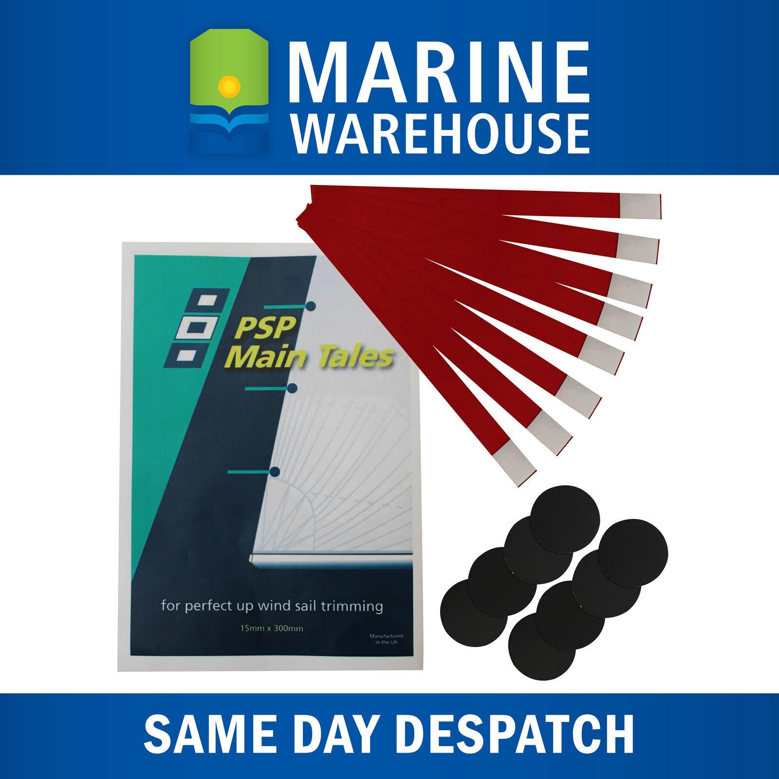 8X Wind Main Tell Tales - PSP Marine Sail Tape Telltales Wind Indicator 401972