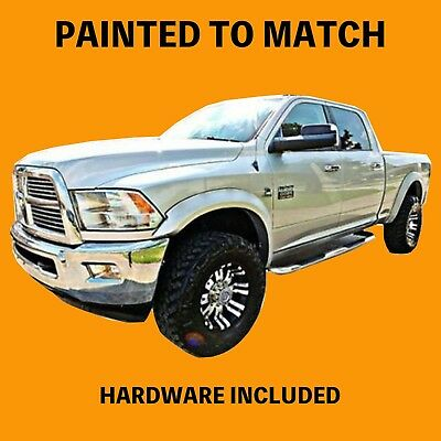 NEW 2014 2015 Dodge Ram 2500 3500 Truck Painted Fender Flares to Match - SMOOTH
