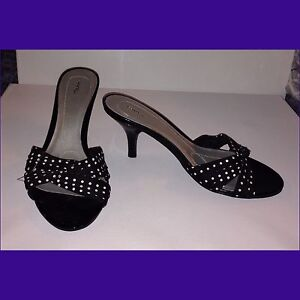 Size 8.5 New Polka Dot Low Heels