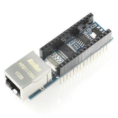 Ethernet Shield For Arduino Nano With Enc28j60 Rj45