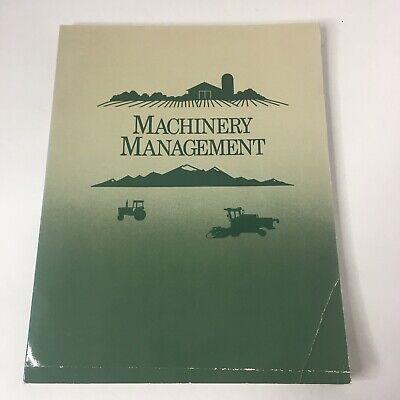 Machinery Management John Deere Farm Business Management Series Fbm-17104b Pb