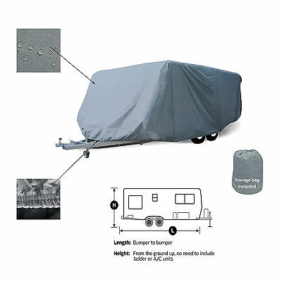 Fleetwood Backpack 718FQ 18' Travel Trailer Camper Storage Cover