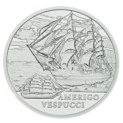 2010 Belarus 20 Rubles Coin The Amerigo Vespucci (Proof) KM# 272