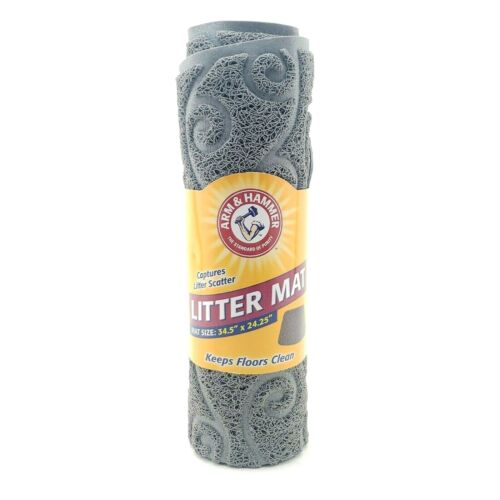 Arm & Hammer Cat Litter Mat Large 34.5in x 24.25in 70099