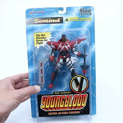 MCFARLANE YOUNG BLOOD SENTINEL ULTRA ACTION FIGURE 1995