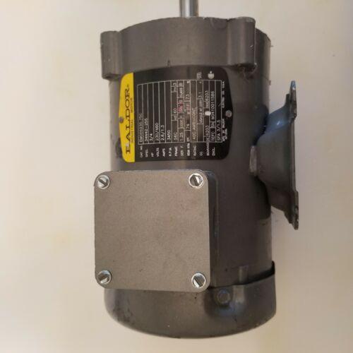 Baldor 3/4 hp 230/460 3phase electric motor