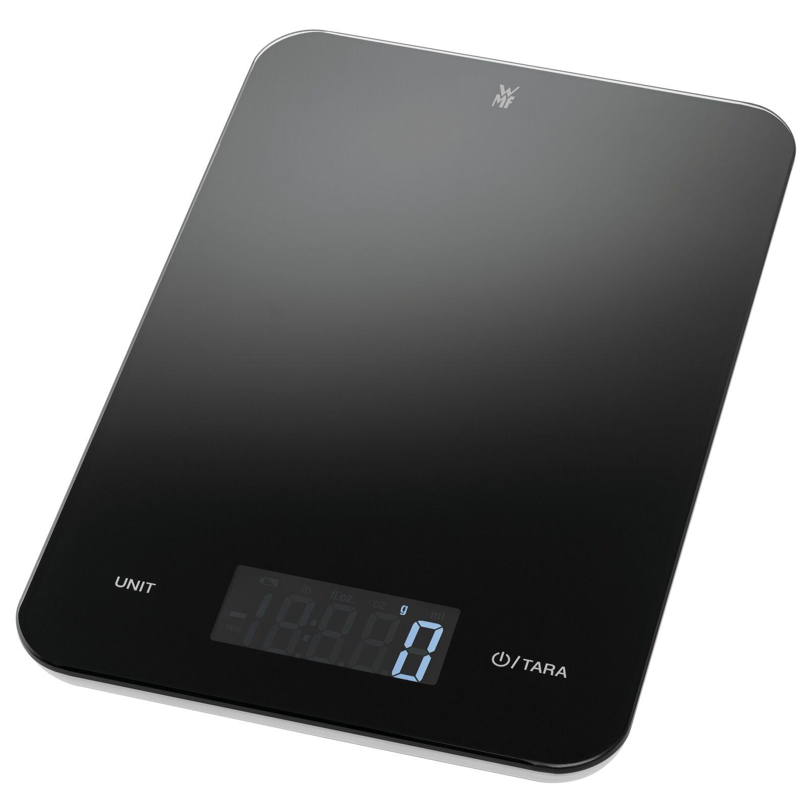 WMF Tischwaage Edelstahl Waage Küchenwage Zuwiegewaage bis 5kg Abschaltautomatik