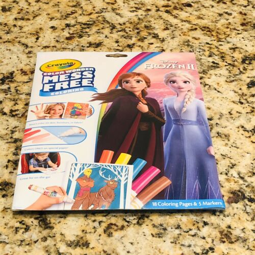 Crayola Color Wonder Frozen Coloring Book Markers Mess Free
