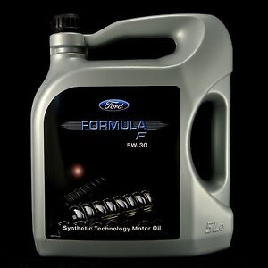 ford formula f 5w 30 5l original ford motor l wss. Black Bedroom Furniture Sets. Home Design Ideas