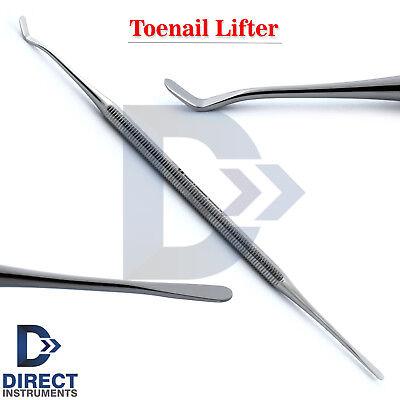 Professional Ingrown Toe Nail Lifter Nail Cleaner Dual Chiropody Podiatry Tools