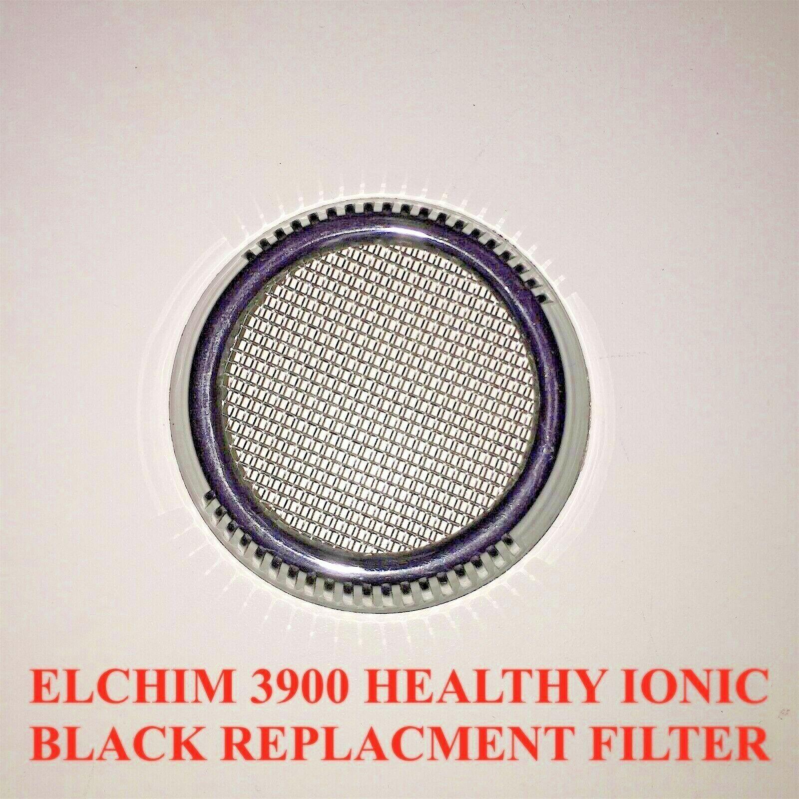 Elchim 3900 Ionic Ceramic Hair Dryer,  Black