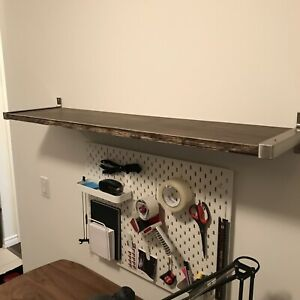 Custom IKEA Wall Shelf