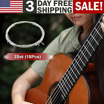 3Set Strings Replacement Nylon String For Acoustic Classical Guitar Music Tool
