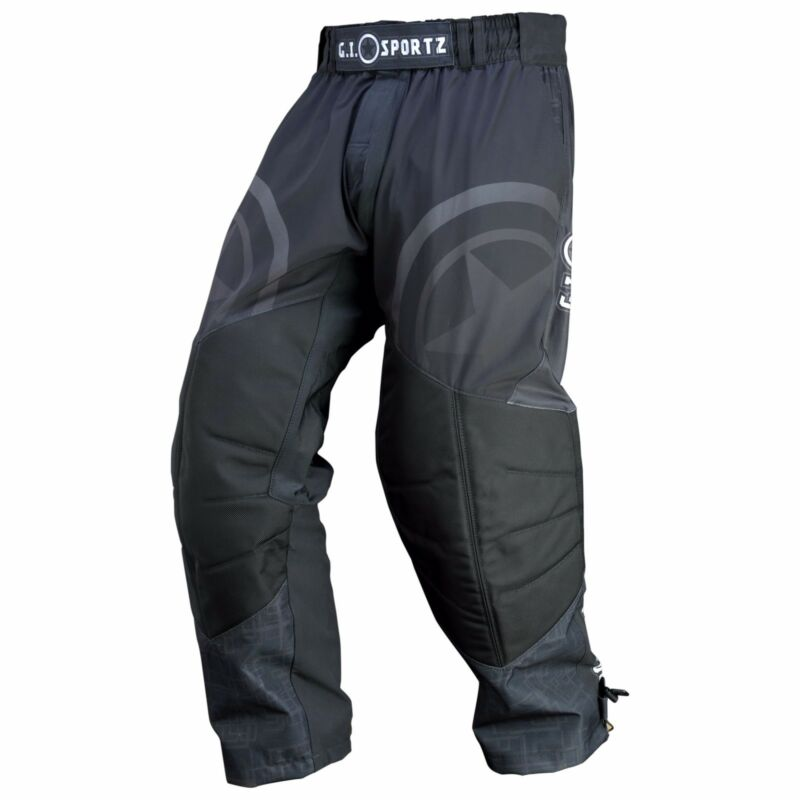 Gi Sportz Competition Glide Pants Black - Medium - Paintball