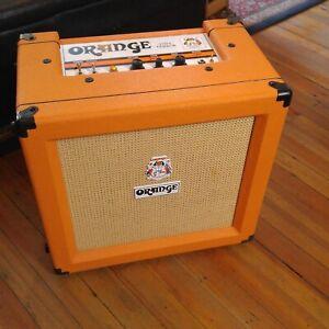 Orange tiny terror combo tube amp with upgraded celestion g12h