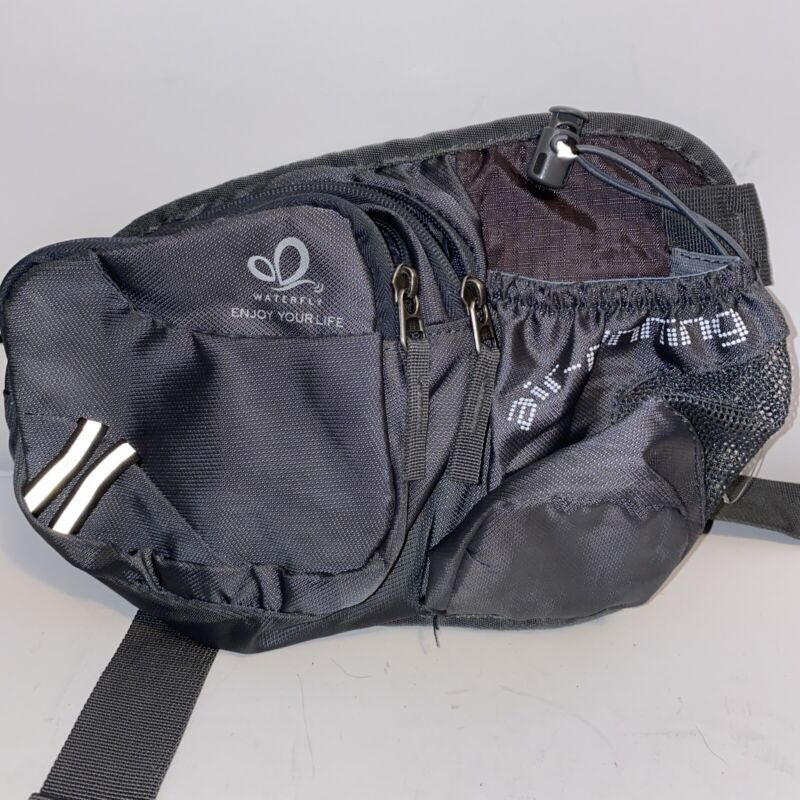 Waterfly Air Running Grey Fanny Pack Unisex