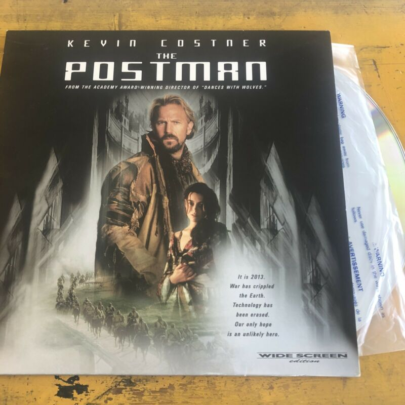 The Postman Warner LaserDisc NTSC CLV 2 Disc Kevin Costner Will Patton Tom Petty
