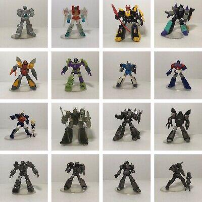 Transformers SCF Act 5 Set of 16 G1 PVC! Chase Starscream! Optimus! Zarak! 100%