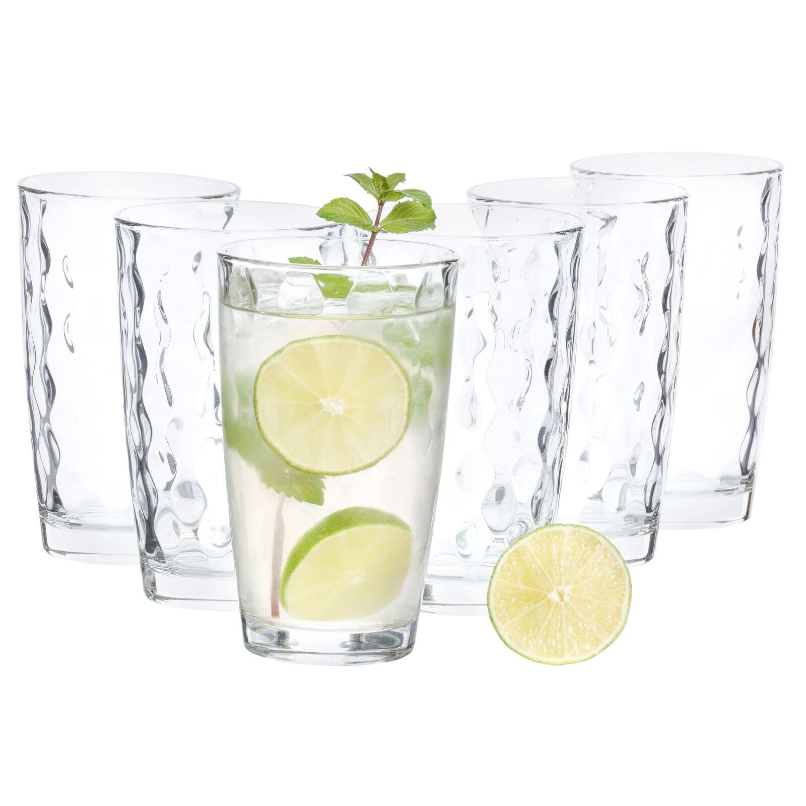 Bormioli Rocco Longdrink-Gläserset Silk Cooler 470 ml Cocktail-Glas klar
