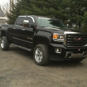 Sierra 2500 hd all terrain 2015