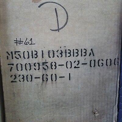 Bristol Compressor M50b103bbba 230 60-1 10000 Btu Compressor