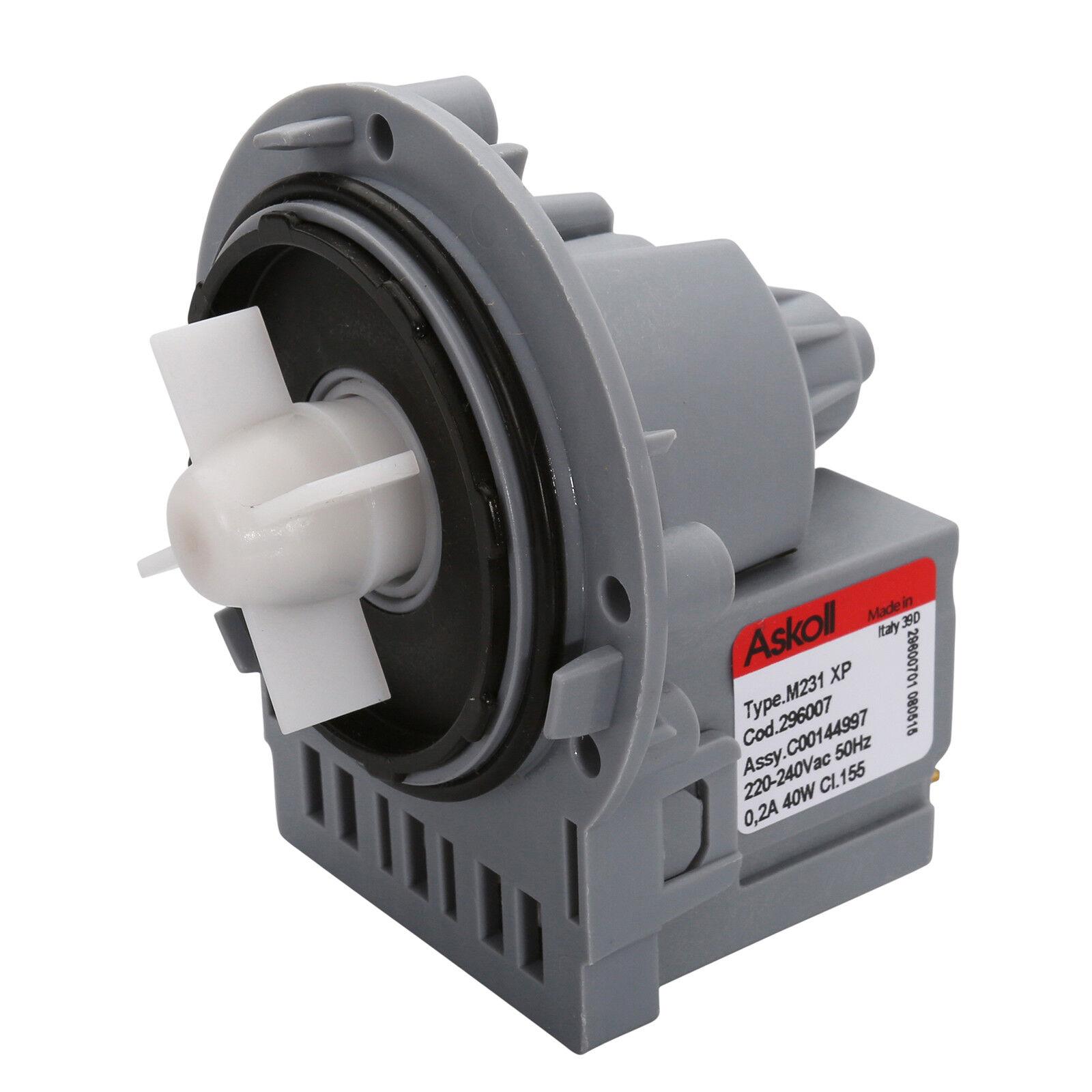 Details about Genuine Samsung Motor Washing Machine M224 M321XP Askoll Pump  40W