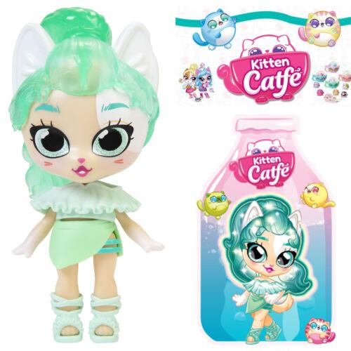 Jakks Series 5 Soda Pop STEPHI VONPAW Kitten Catfe *Light Up Hair* Doll Green