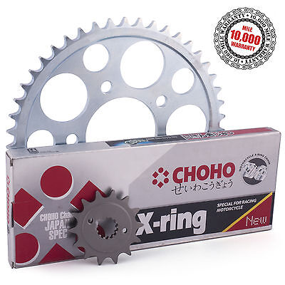 TRIUMPH 750 TRIDENT 1996  X RING DRIVE CHAIN AND SPROCKETS KIT
