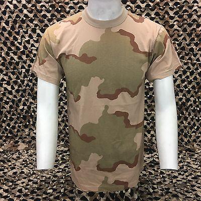 NEW Rothco Short Sleeve T-Shirt - Desert Camo