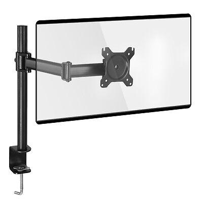 SONGMICS Monitorarm montierbar an Tisch verstellbarer Monitore schwarz OMA01BK