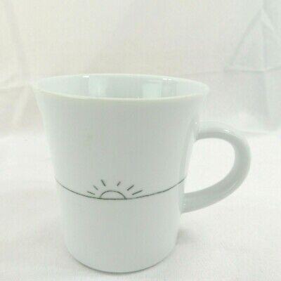 KAHLA by Crate & Barrel White 10 oz Sunshine Mug