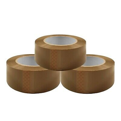 36 Rolls Brown Carton Sealing Packingshippingbox Tape- 2 Mil- 2 X 110 Yards