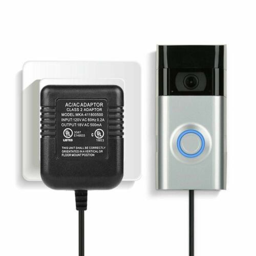 Power Supply Battery Charger Adapter Cord for Video Doorbell Ring 1/2/2 Pro NEW
