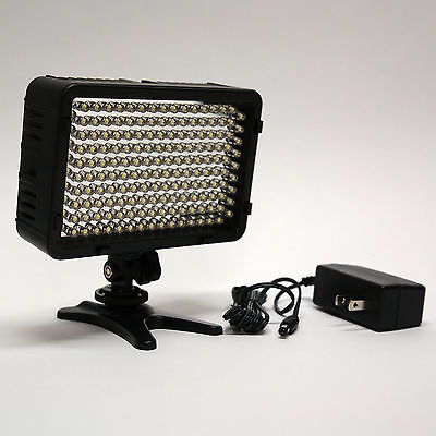 Pro 4k Ac/dc On Camera Led Video Light Panel For Sony Fdr...