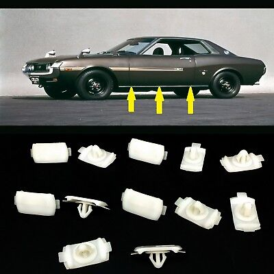 12 CLIP FOR ROCKET MOULDINGS TRIM CELICA TA22 RA20 RA21 RA22 TA27 RA25 TA22 for sale  Shipping to Canada