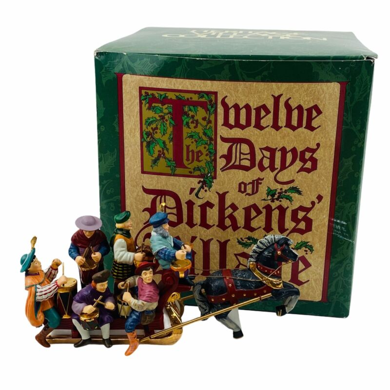 Dept 56 Twelve Days of Dickens Village - Twelve Drummers Drumming w/ Box