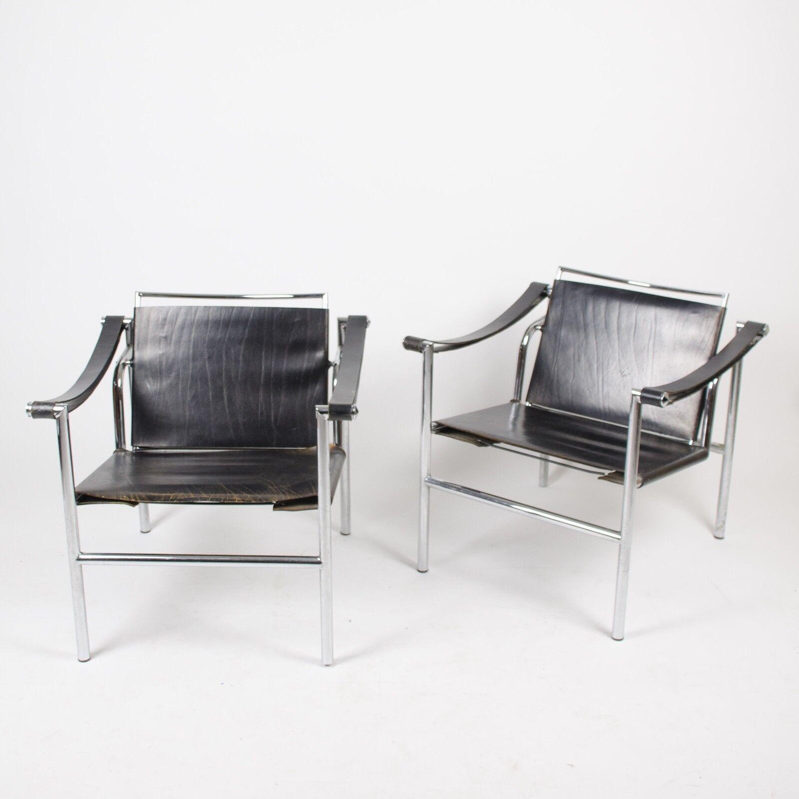 Semplice Design Le Corbusier Lc1 Basculant Sling Chair