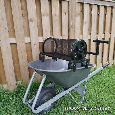 HEAVY DUTY sifter/sieve/trommel For Soil, Worm Casting, Rock, Compost,