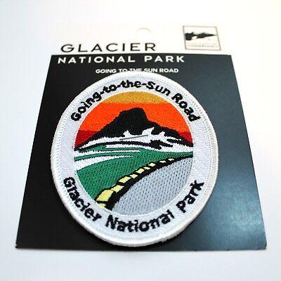 Official Glacier National Park Souvenir Patch Going to the Sun Road Montana