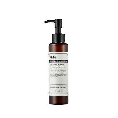Klairs Gentle Black Deep Cleansing Oil 150ml (Cleansing Pores)