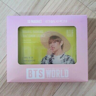 V - Official BTS World ID Magnet