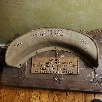 Spencer Turbine Co. Hartford Conn Circa 1920 Advertising Hose Reel