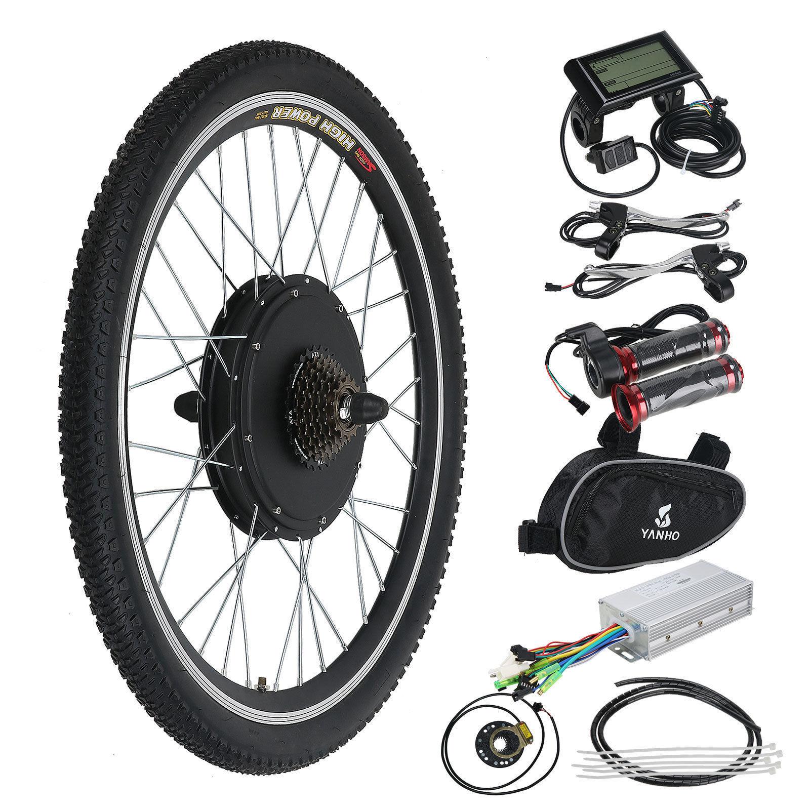 750 W Electric Bikes For Sale Ebay Custom Waterproof Bike Wiring Harness 48v Rear Wheel Bicycle E Motor Conversion Kit 1000w Hub Lcd Meter