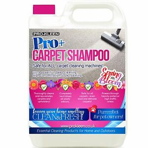 Carpet shampoo 5L cleaning solution odour pet deodoriser Upholstery Cleaner vax