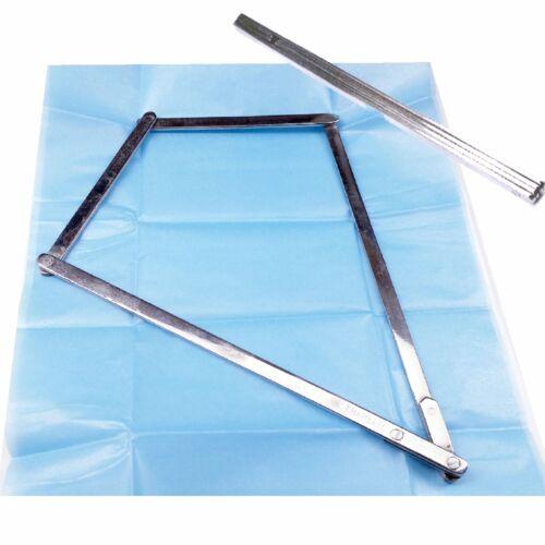 Parcel Paper Weight Folding Steel Diamond Gemstones Sorting Display Jeweler