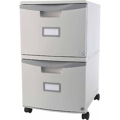 Filing Cabinet With Wheels Locking Mobile Document Storage 2 Drawer Rolling File