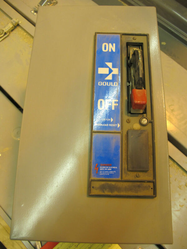 Gould Class A83,Size 1, Unitized Combination Starter,NEW