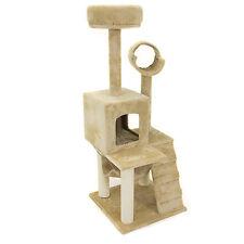 Deluxe 52 Cat Tree Tower Condo Scratcher Furniture Kitten House Hammock