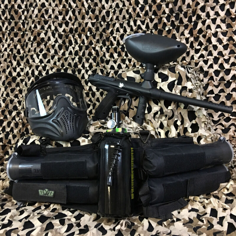 NEW Tippmann Gryphon LEGENDARY Paintball Marker Gun Package Kit - Black