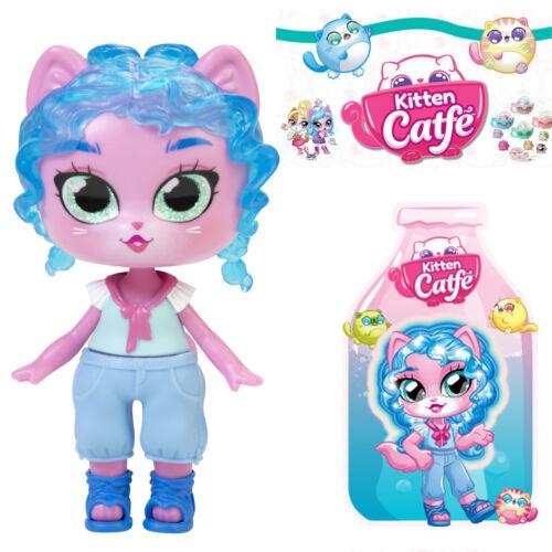 Jakks Series 5 Soda Pop MADDY LONGTAILS Kitten Catfe *Light Up Hair* Doll Blue